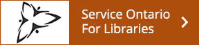 Service Ontario for Libraries